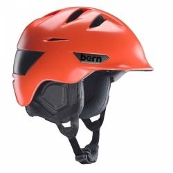 Snowboardová helma Bern Rollins orange / oranžová