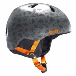 Dětská helma Bern Nino satin grey feature