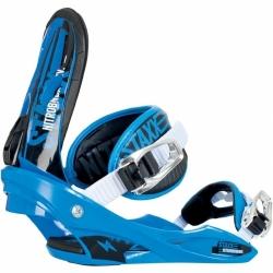 Snowboardové vázání na snowboard Nitro Staxx blue / white