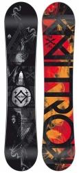 Pánský snowboard Nitro Magnum 159 wide, širší snowboardy pánské