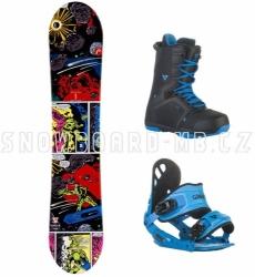 Snowboardový set s botami pro děti Head Rowdy Jr Rocka