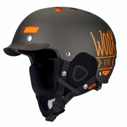 Snowboardová helma WOOX Brainsaver Brown