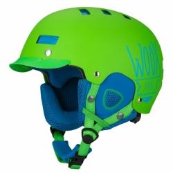 Pánská snowboardová helma WOOX Brainsaver Green
