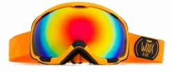 Snowboardové brýle Woox Opticus Magnetus Orange