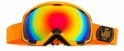 Snowboardové brýle Woox Opticus Magnetus Orange