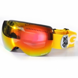 Brýle na snwobaord Pitcha SG6 Snow Goggles pink/yellow red mirrored revo