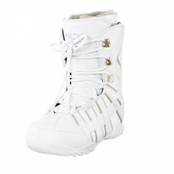 Dámské boty na snowboard Ace white, levné snowboardové boty