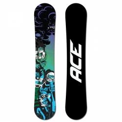 Pánský snowboard Ace Dark Force black/green/blue