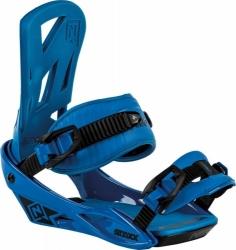 Vázání na snowboard Nitro Staxx blue / modré