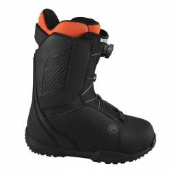 Snowboardové boty Flow Vega Boa black, pánské snb boty s utahovacím kolečkem