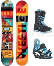 Dětský snowboardový komplet Westige Flat Kid