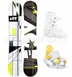 Dámský levný snowboardový komplet Ace Oddity S1