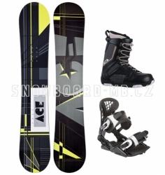 Snowboard komplety akce, univerzální snowboard komplet sleva
