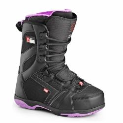 Dámské boty Head Galore black/purple, dámská snowboardová obuv