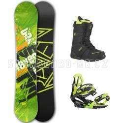 Pánský snowboardový komplet Raven Patrol zelený