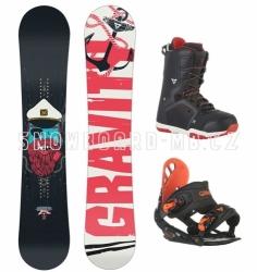 Chlapecký snowboard komplet Gravity Flash, snb komplety pro kluky