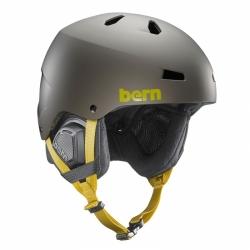Pánská lyžařská a snowboardová helma Bern Macon, velké přilby na lyže a snb