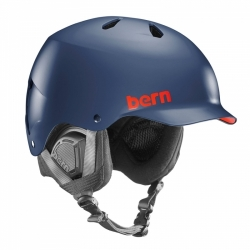 Snowboardová helma Bern Watts matte navy blue / modrá