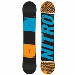 Širší snowboard Nitro Stance wide