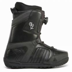 Snowboardové boty K2 Transit Boa černé, utahování kolečkem