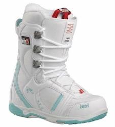Dámské boty na snowboard Head Jade white / bílé / tyrkysové