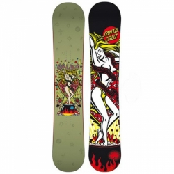 Freestyle allmountain snowboard Santa Cruz Witch Doctor