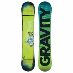 Dětský snowboard Gravity Flash zelený 2016/17