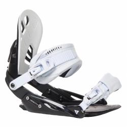 Snowboardové vázání Gravity G1 black/white černo/bílé