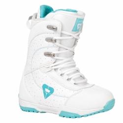 Dámské boty na snowboard Gravity Aura white/bílé