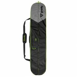 Snowboardový obal, vak na snowboard s botami Gravity Icon black/lime