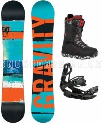 Snowboard komplet Gravity Contra TOP kolekce 2016/17
