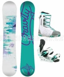Dívčí snowboardový komplet Gravity Fairy, snowboard komplet pro malé i větší holky