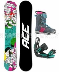 Damský snowboard komplet Ace Mayday, levné dámské snowboardové sety