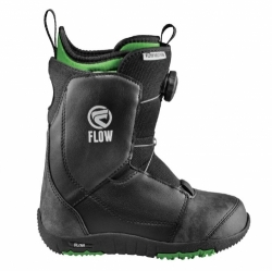Dětské snowboardové boty Flow Micron Boa black s utahováním kolečkem