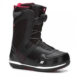 Snowboardové boty K2 Seem BOA black, pánské boty na snowboard s kolečkem