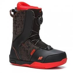 Dětské snowboardové boty K2 Vandal s utahovacím kolečkem BOA
