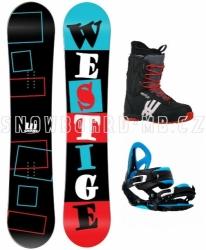 Unisex snowboard komplet Westige Square