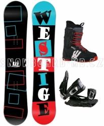 Snowboard komplet Westige Square černý