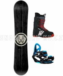 Snowboard komplet Westige Apache s menšími botami