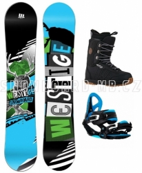 Velký wide snowboard komplet Westige Max