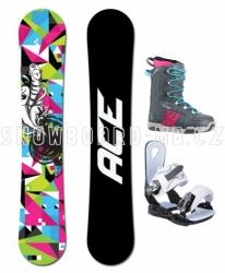 Dámský snowboard komplet Ace Demon