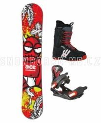 Snowboardový komplet Ace Joker s vázáním a botami