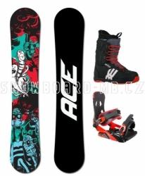 Univerzální snowboard komplet Ace Villain