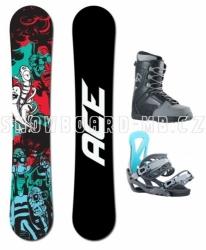Snowboardový komplet Ace Villain, levné snowboard komplety