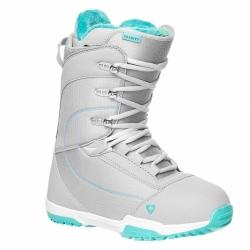 Dámské boty na snowboard Gravity Aura light grey, světle šedé/modré