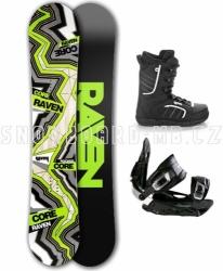 Snowboard komplet Raven Carbon 2017