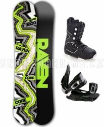 Snowboardový komplet Raven Carbon 2017/18