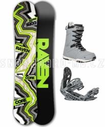 Pánský snowboardový komplet Raven Carbon s botami Gravity