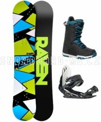 Pánský snowboard komplet Raven Shape black