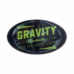 Grip Gravity Jeremy Mat black/lime